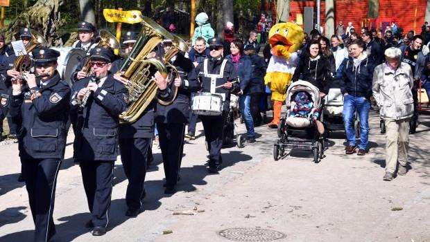 Zoo Rostock Kinderwagenparade