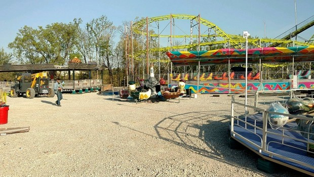 America's Fun Park 2018 neu Branson Baustelle