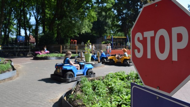 Amusementspark Tivoli Tiffi & Toffi's Rijschool neu 2018