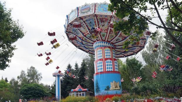 Bayern-Park Wellenflieger Kettenkarussell