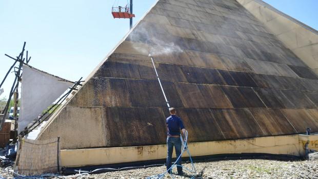 BELANTIS Pyramide dreckig
