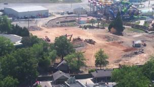 Carowinds mit großer Baustelle: Neue Katapult-Achterbahn 2019?