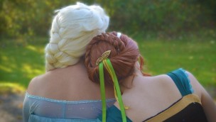 Eisschwestern, Prinzessinnenparty