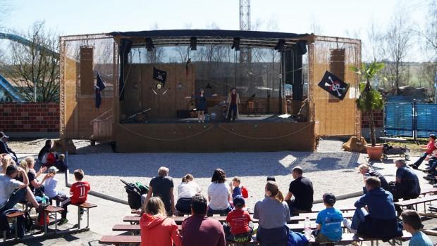 Freizeit-Land Geiselwind Piratenbühne