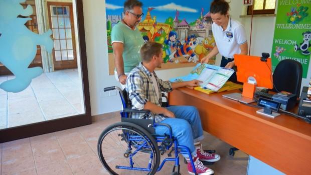 Gardaland Easy Rider Service Gäste mit Behinderung
