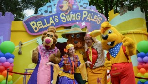 """Avonturenpark Hellendoorn eröffnet interaktive Kinderdisco """"Bella's Swing Paleis"""" als Neuheit 2018"""
