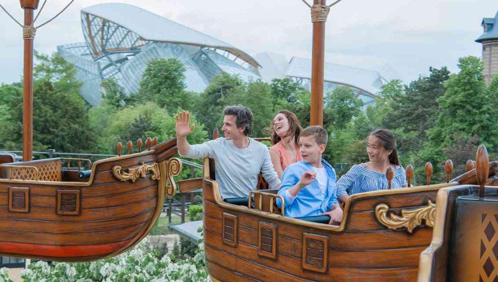 Jardin d'Acclimatation Les bateaux volants