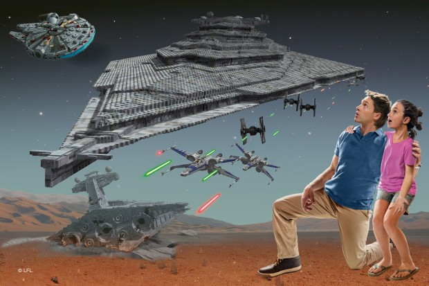 LEGOLAND Star Wars Miniland Finalizer Artwork