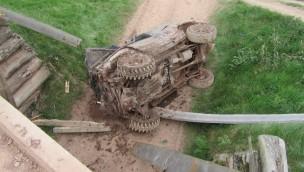 Tödlicher Unfall im Freizeitpark Mammut: Geländewagen-Insasse stirbt nach Sturz von Brücke