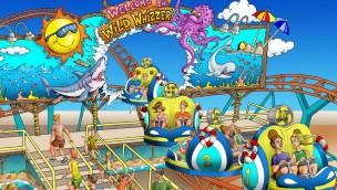 """Morey's Piers 2018 neu mit """"Wild Whizzer"""": Dreh-Achterbahn eröffnet in amerikanischem Freizeitpark"""