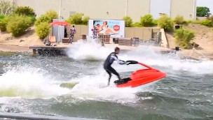 Movie Park Germany jet Ski Show 2018