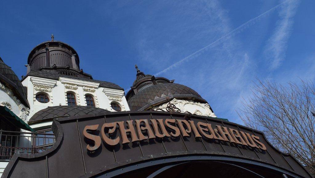 Phantasialand Schauspielhaus Sendemast