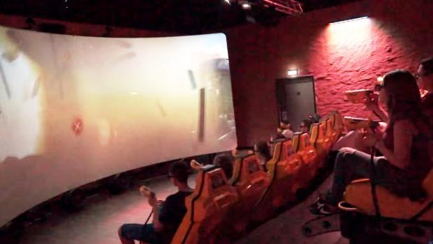 Triotech XD Dark Ride interactive Dark Ride