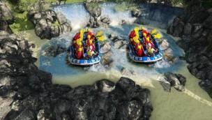 """O'Gliss Park 2018 neu mit """"Virtual Rafting"""": Weltweit einzigartige VR-Rafting-Attraktion eröffnet in französischem Wasserpark"""