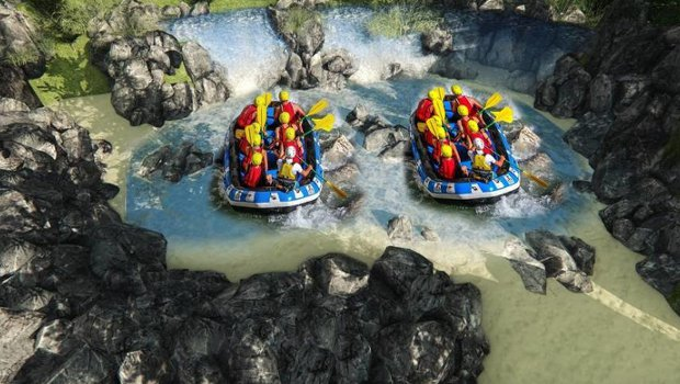 O'Gliss Park VR Rafting 2018