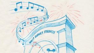 Walt Disney Studios Paris Musik Zeichnung