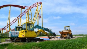 Schwaben-Park Wilde Hilde Baustelle