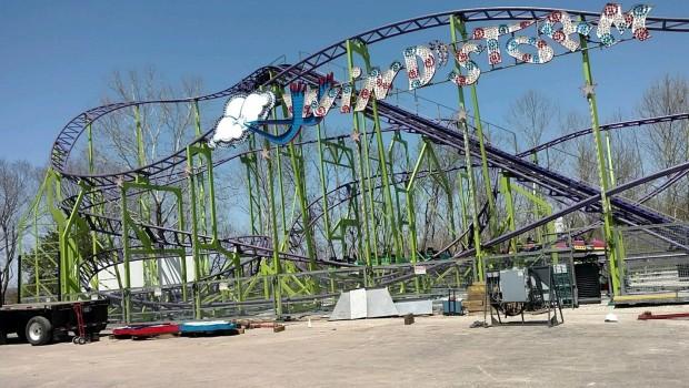 Windstorm Americas Fun Park Baustelle