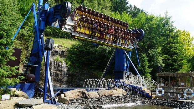 YuKan Raft TopSpin Fort Fun Abenteuerland
