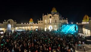 BELANTIS Summer-Opening - Schlossplatz bei Nacht