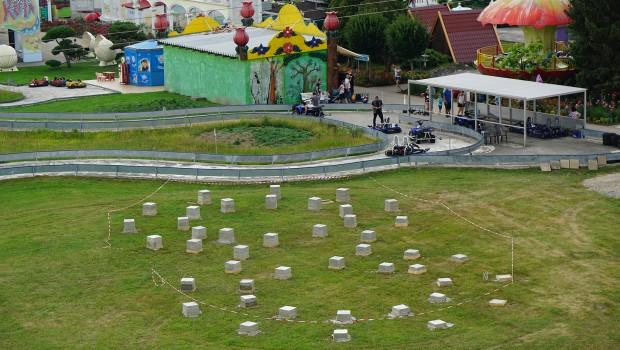Churpfalzpark Neue Achterbahn 2018 Baustelle