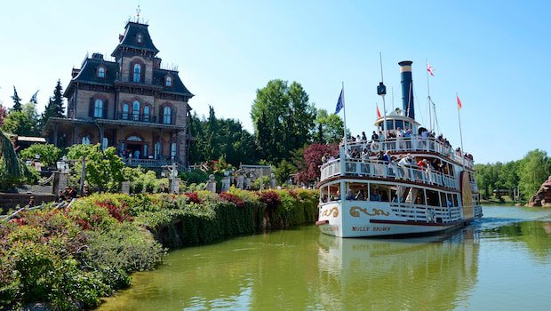 Disneyland Paris Thunder Mesa Riverboat Landing (Flussfahrt)