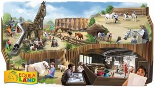 Equilaland München: Termin für Eröffnung der neuen Pferde-Erlebniswelt enthüllt