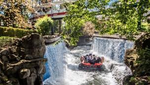 """""""Fjord Rafting"""" im Europa-Park nach zweiwöchiger Schließung nach Feuer wieder geöffnet"""