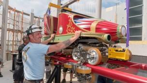 """Schienenschluss und erster Zug der neuen """"Eurosat"""": Europa-Park feiert Meilensteine"""