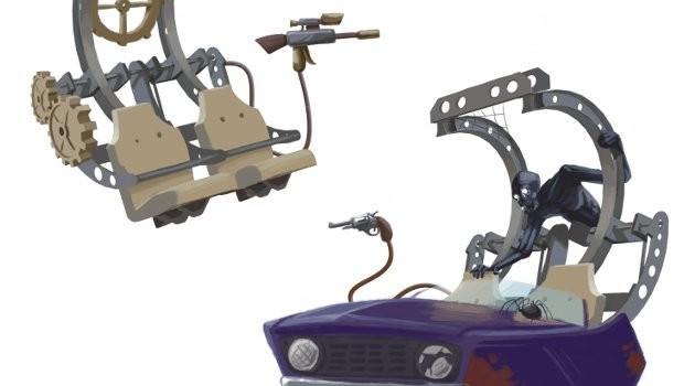 Tandem Cloud Coaster Extreme Engineering