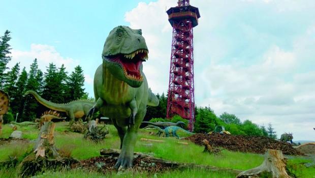FORT FUN T-Rex Dinosaurier Erlebniswelt