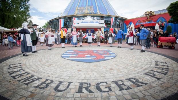 Großregion Europa - Luxemburger Platz im Europa-Park