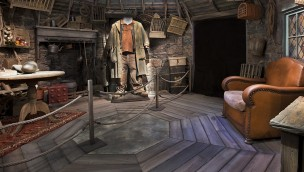 Harry Potter-Ausstellung Hagrids Hütte