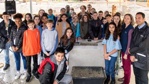 Tierpark Hellabrunn Grundsteinlegung Tierparkschule
