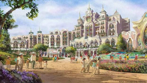 Hotel 2022 Tokyo DisneySea Artwork