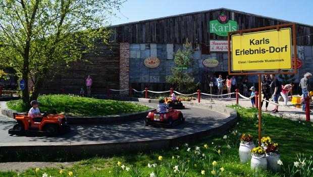 Karls Erlebnis-Dorf Elstal Kinder-Autofahrt