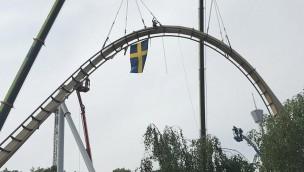 """Schienenschluss bei """"Valkyria"""": Liseberg eröffnet Europas längsten Dive-Coaster im Sommer 2018"""