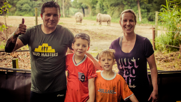 Mud Masters Burgers Zoo - Familie