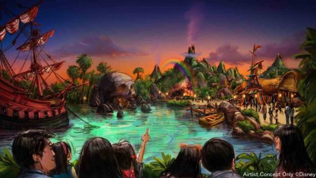 Peter Pan Tokyo Disneysea Erweiterung 2020