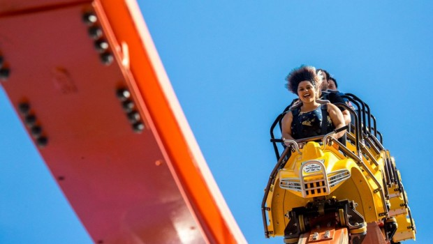 Railblazer in California's Great America