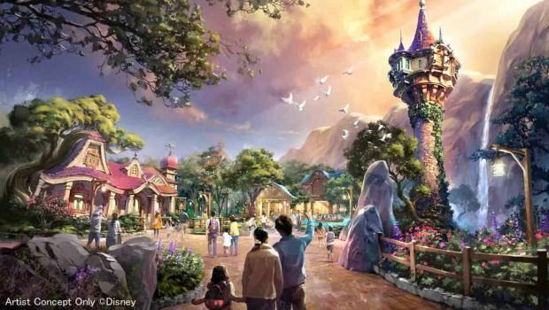Rapunzel Tokyo DisneySea Erweiterung 2020 Plan