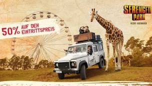 Serengeti-Park: Rossmann-Aktion 2018 ermöglicht 50 Prozent Rabatt Anfang August