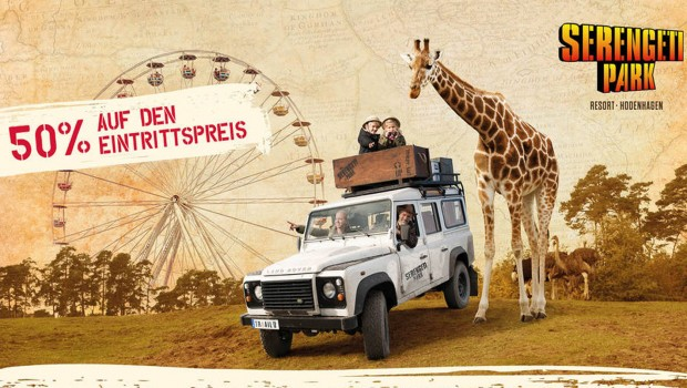Serengeti-Park Rossmann Aktion