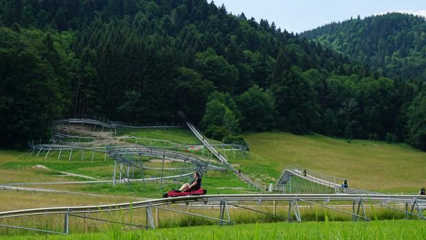 Strecke Chiemgau Coaster Alpine