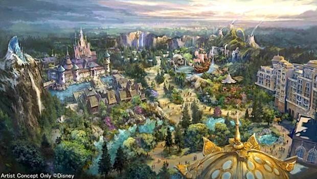 Tokyo DisneySea Erweiterung 2020 Plan