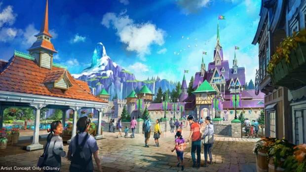 Tokyo DisneySea Frozen Eiskönigin Plan 2020