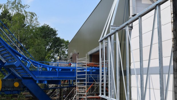 Toverland Avalon Baustelle Juni 2018