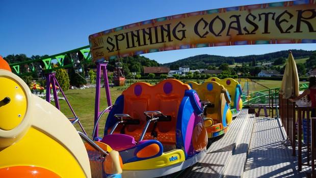 Churpfalzpark SBF Visa COmpact Spinning Coaster 2 Loop - Station
