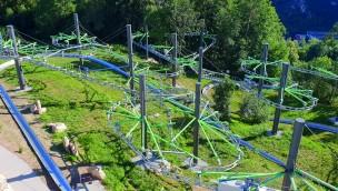 Erlebnisfelsen Pottenstein eröffnet 2018 neu nach Erweiterung und Umbau der Sommerrodelbahnen