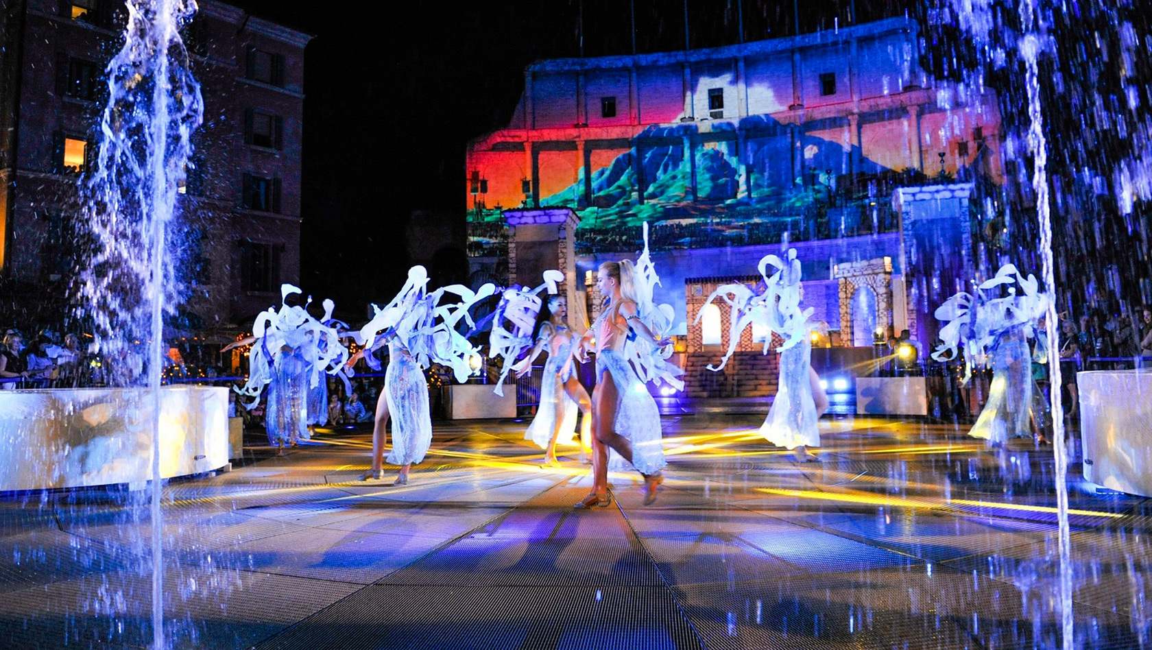 "Europa-Park: ""Colosseo""-Sommershow 2018 mit ""Rulantica"